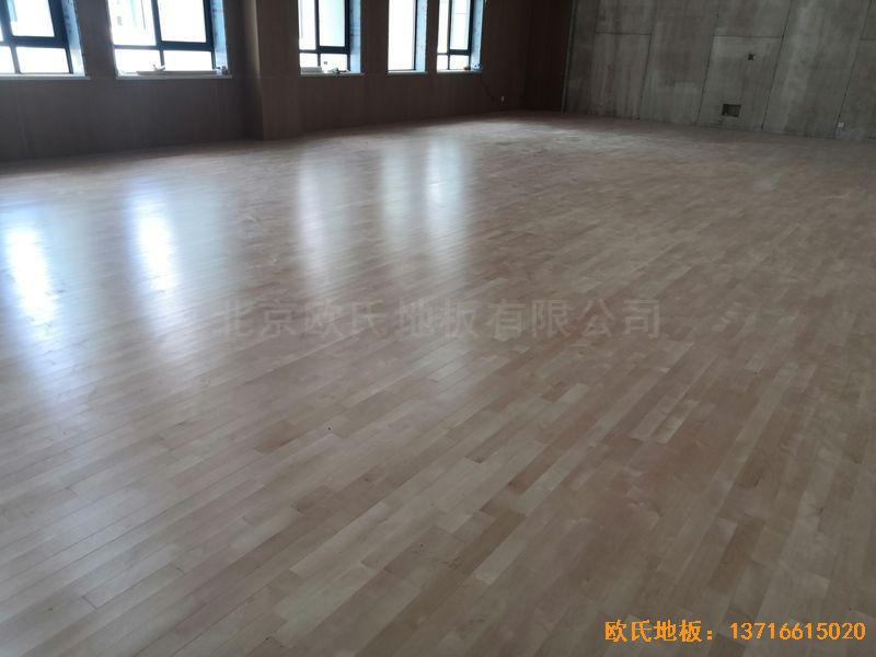南京埔口区实验小学体育地板铺装案例