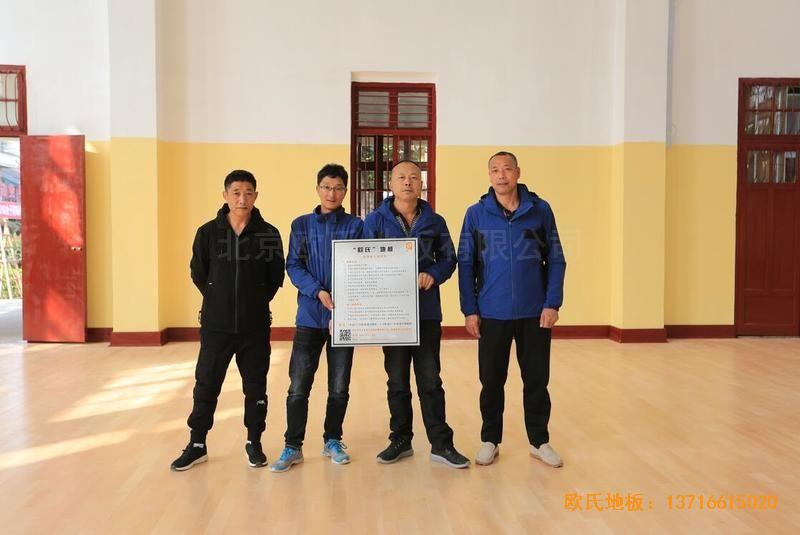 福建中国女排中国队训练基地排球场馆运动地板安装案例