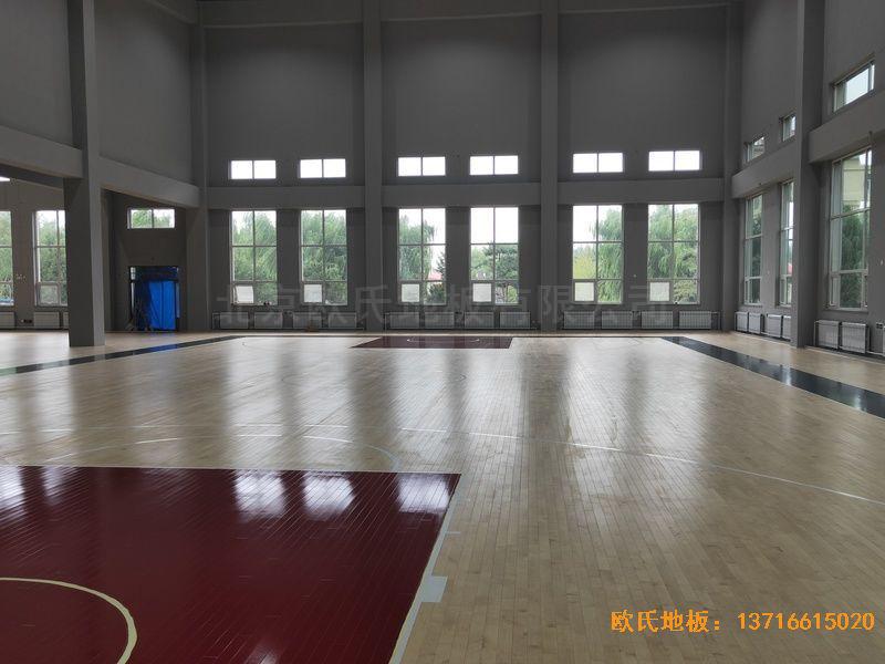 辽宁沈阳于洪机场体育木地板铺装案例