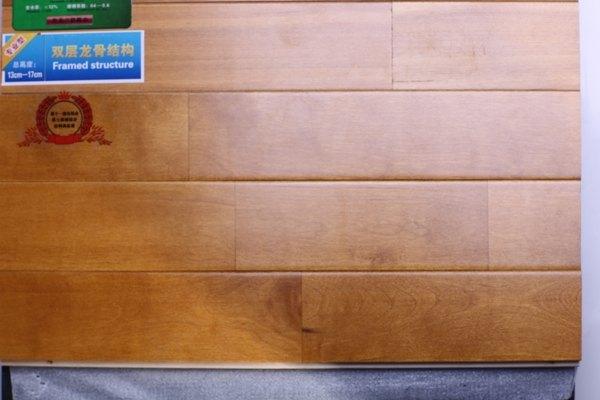 体育木地板结构