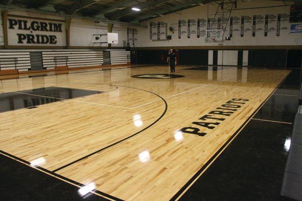 室内木地板篮球场建造