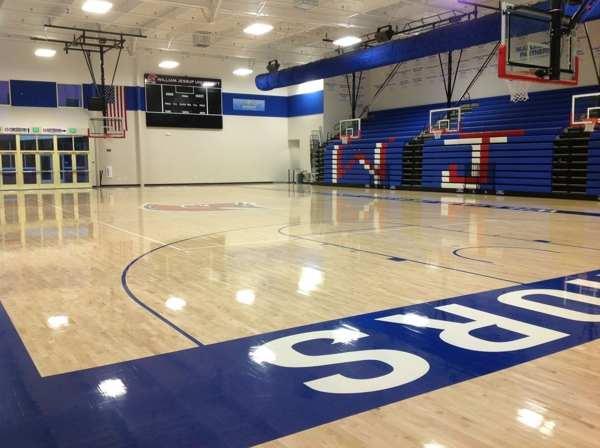 运动馆实木地板