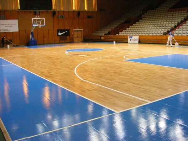 齐齐哈尔体育篮球场木地板