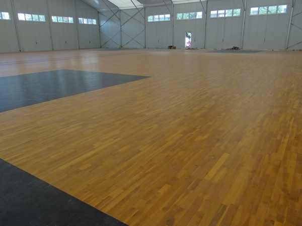 辽宁体育运动地板施工