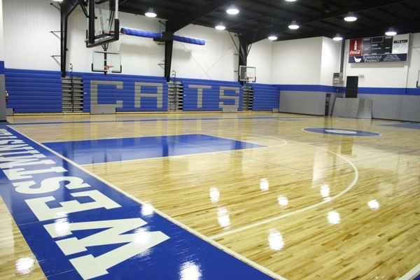沈阳学校篮球场地面材料