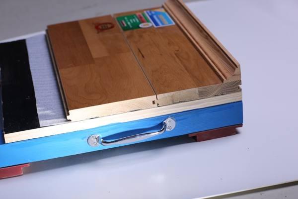 齐齐哈尔运动木地板效果图