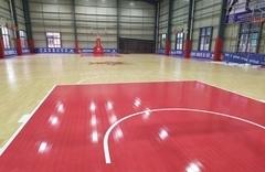 恒发鞋业篮球场
