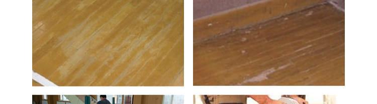 篮球场旧木地板怎么翻新
