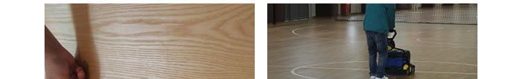 篮球体育木地板翻新