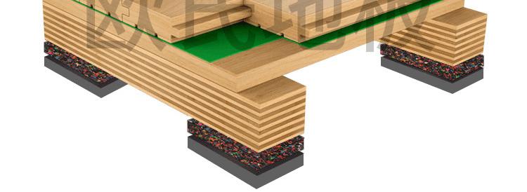 篮球馆木地板龙骨标准