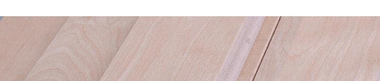 室内篮球场木地板材质