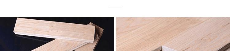 标准枫木运动木地板生产