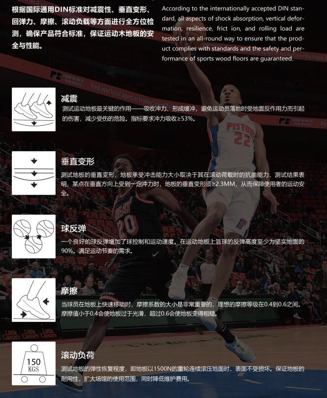 篮球mu地ban双层龙骨jiegou