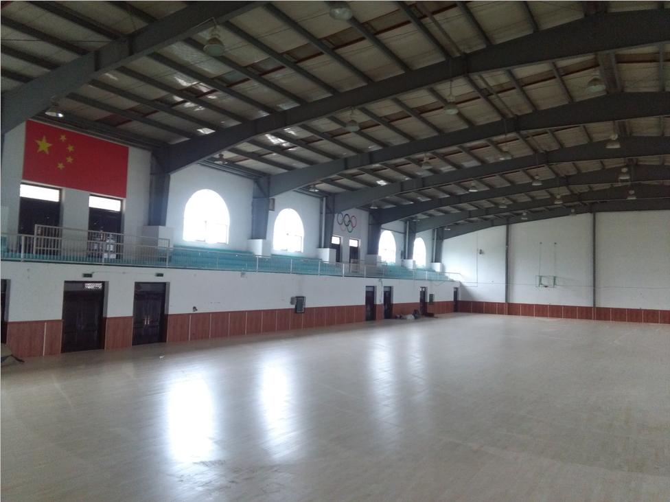 郑zhou体育大学zong合体育馆项目