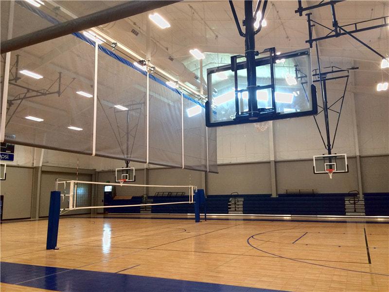篮球馆运动木地板枫木双层龙骨,实惠到不能再实惠了
