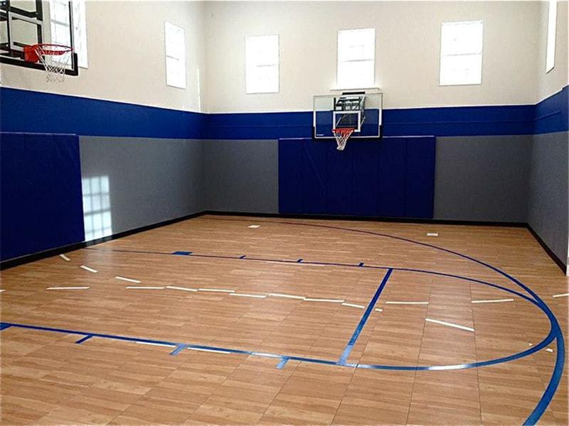 专业篮球馆木地板应该选择A级板
