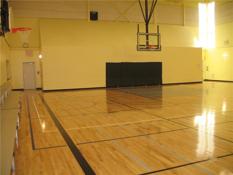 精彩的篮球比赛需要专业的篮球运动木地板