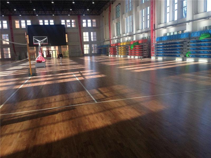 篮球场地板价格
