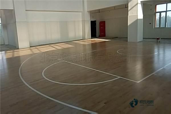 哈尔滨体育运dongmu地板施gong厂家
