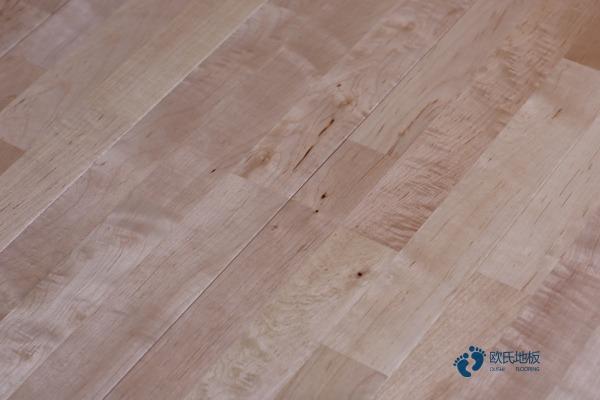 舞台木地板原材qie割、tuo脂和烘干